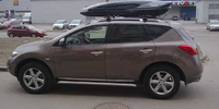 Nissan Murano с боксом Thule Excellence