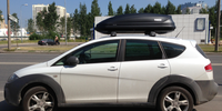 Seat Altea Freetrack с боксом Thule Pacific 200