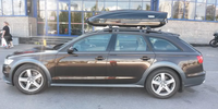 Audi A6 Allroad с боксом Thule Motion 800