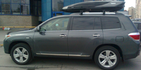 Toyota Highlander c боксом Thule Excellence