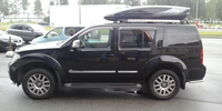 Nissan Pathfinder с боксом Thule Excellence XT