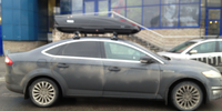 Ford Mondeo с боксом Thule Motion 800