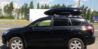 Toyota Rav 4 с боксом Thule Motion 800 NEW