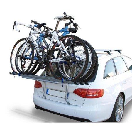 Багажник для перевозки велосипеда на заднюю дверь